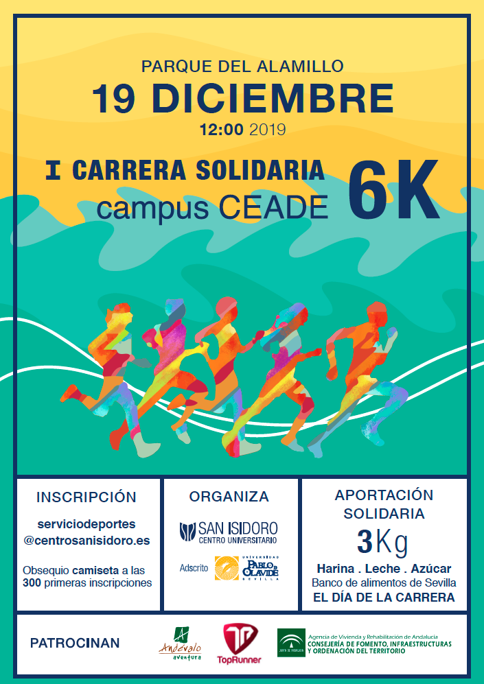 carrera solidaria campus ceade 2019