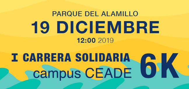 Carrera Solidaria. Campus Ceade 2019
