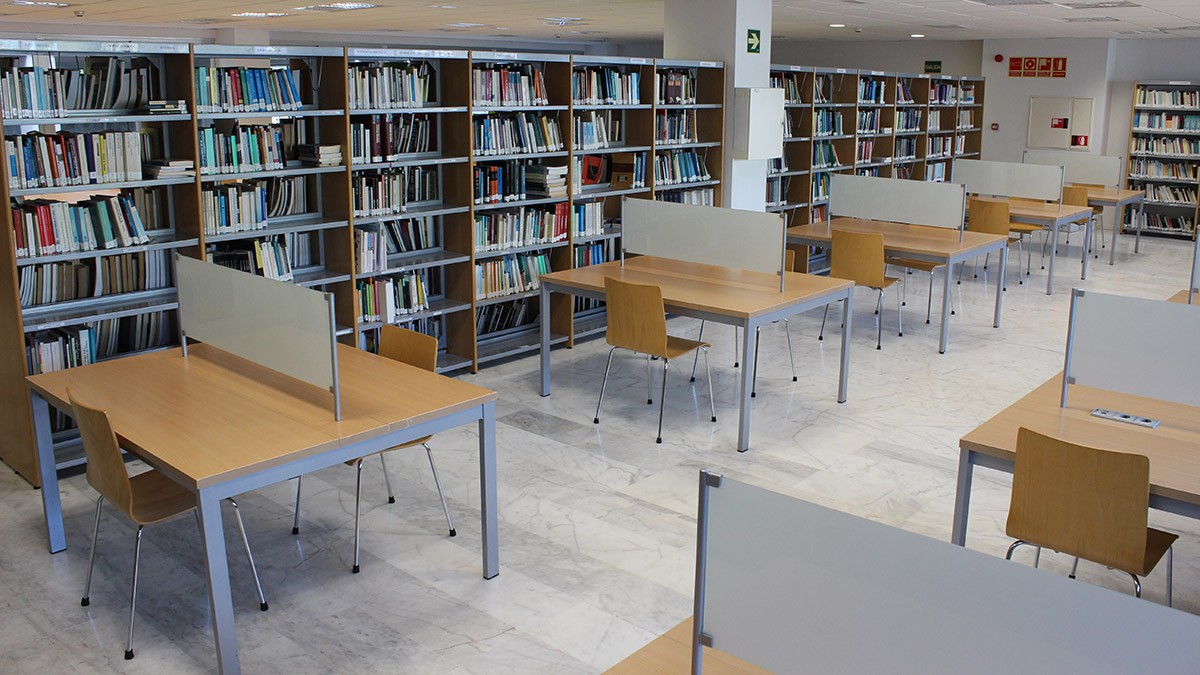 Campus Ceade. Biblioteca